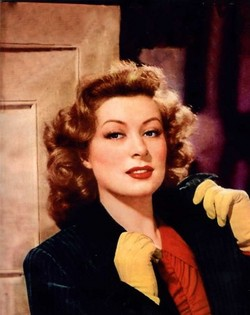 WINNER Best Actress 1942 GREER GARSON 1904 - 1996 MRS. MINIVER