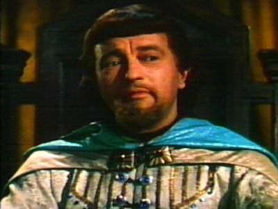 As Prince John in The Adventures of Robin Hood