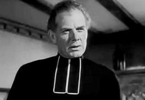 Charles Bickford as Father Peyramale The Song of Bernadette