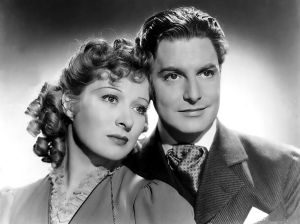 Robert Donat to be DeOSCARIZED for GOODBYE, MR. CHIPS. HERE WITH GREER GARSON.