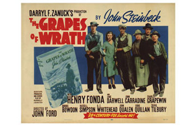 NEW BEST PICTURE 1940 THE GRAPES OF WRATH