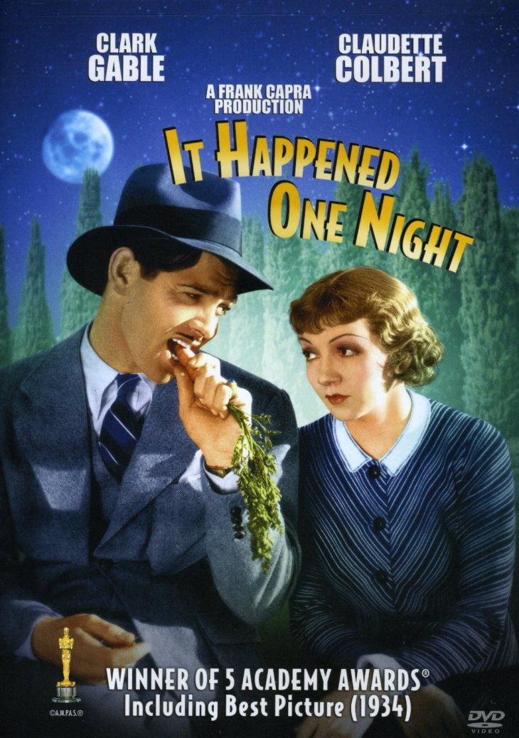 WINNER Best Picture 1934 IT HAPPENED ONE NIGHT