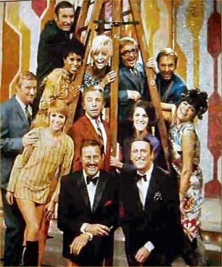 THE CAST OF ROWAN & MARTIN'S LAUGH-IN 1969