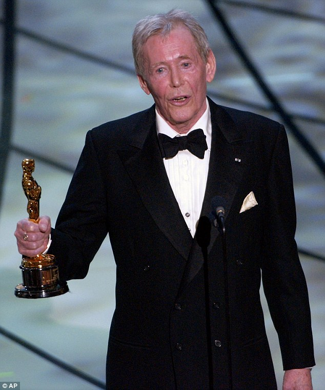 PETER O'TOOLE 1932 - 2013 RECIPIENT HONORARY AWARD 2002