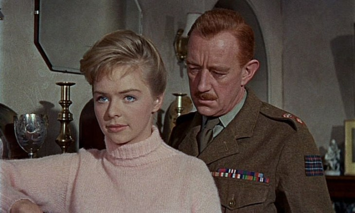 Susannah York & Alec Guinness SNUBBED BY THE ACADEMY 1960 Tunes of Glory