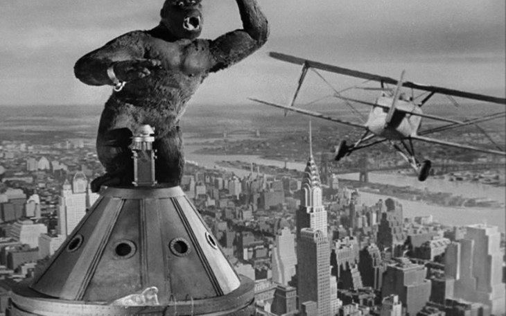 KING KONG was the FIRST Hollywood feature TO BE TELEVISED!