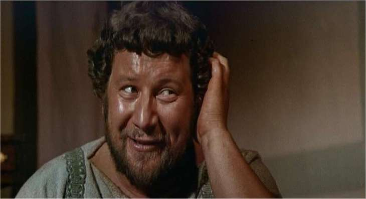 WINNER Best Supporting Actor 1961 PETER USTINOV 1921-2004