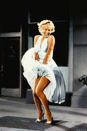 SNUBBED by the Academy 1955 MARILYN MONROE 1926-1962 The Seven Year Itch