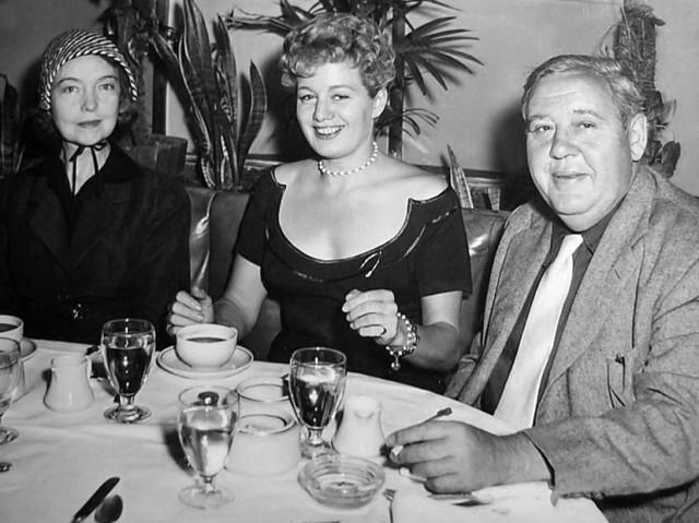 Left to Right: LILLIAN GISH, SHELLEY WINTERS, CHARLES LAUGHTON