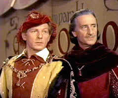 """GET IT?"" ""GOT IT."" ""GOOD."" THE COURT JESTER 1955"