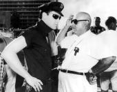 Elvis Presley, Norman Taurog On the set of Girls!Girls!Girls! 1962