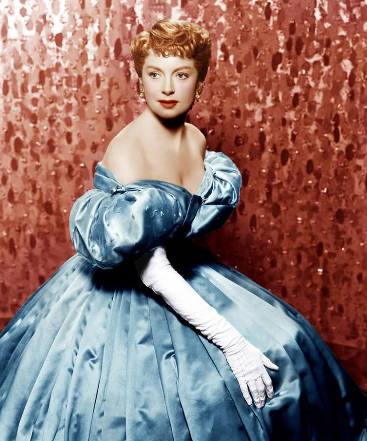 NOMINEE Best Actress 1956 DEBORAH KERR 1921 - 2007 THE KING AND I