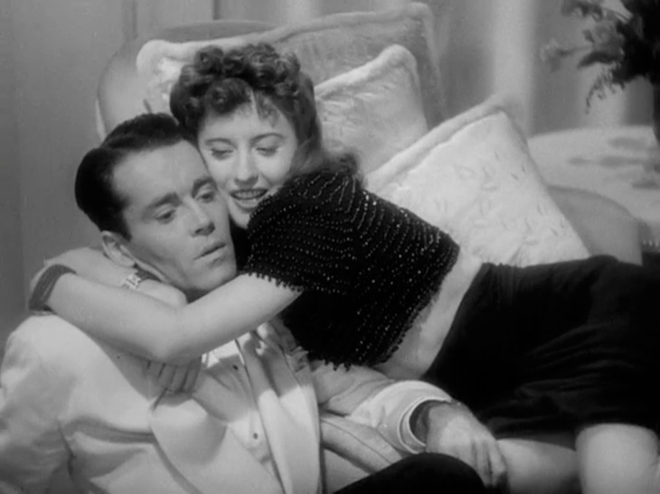 HENRY FONDA & BARBARA STANWYCK  in THE LADY EVE 1941