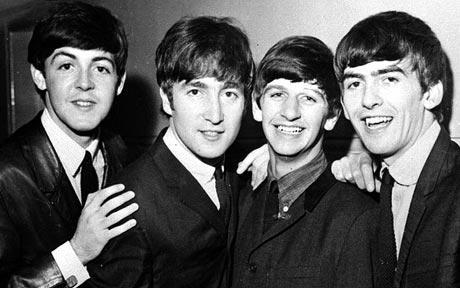 Paul, John, Ringo, George THE BEATLES 1964