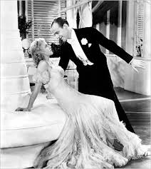GINGER ROGERS 1911-1995  & FRED ASTAIRE 1899-1987 in TOP HAT 1935