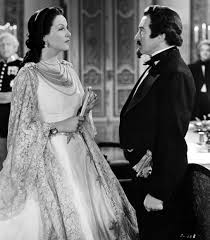 GALE SONDERGAARD as EMPRESS CARLOTTA with CLAUDE RAINS (1889-1961) JUAREZ (1939)