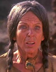 GALE SONDERGAARD portrays ELK WOMAN in THE RETURN OF A MAN CALLED HORSE 1976