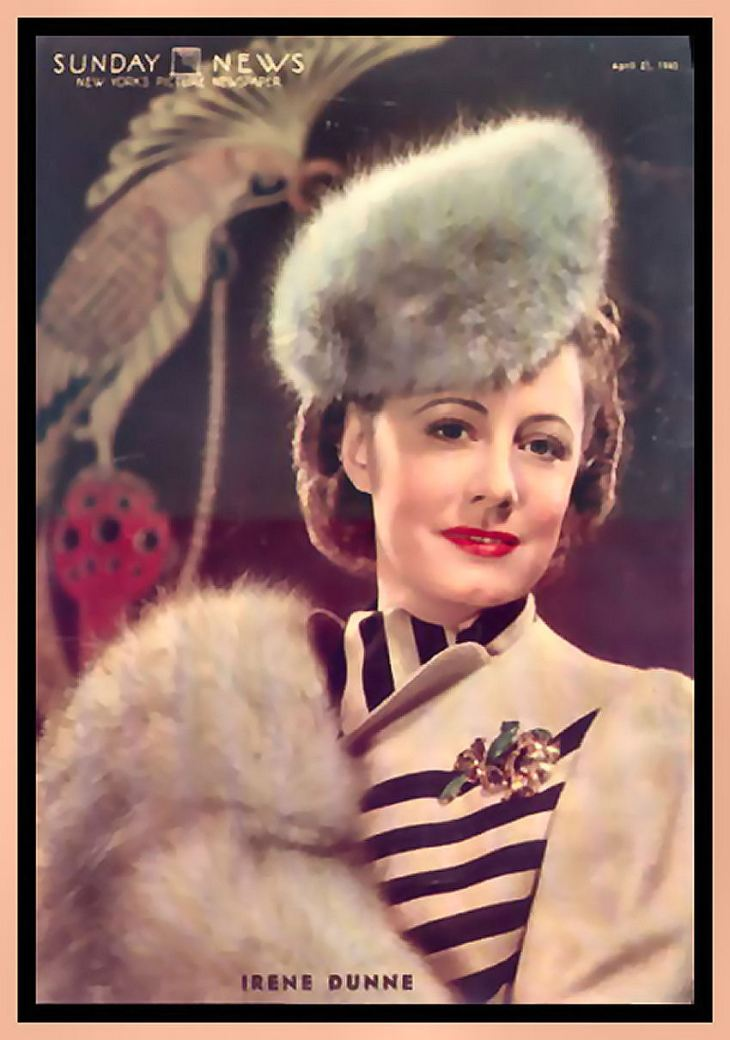 IRENE DUNNE 1898 - 1990 5 NOMINATIONS! NO WINS!