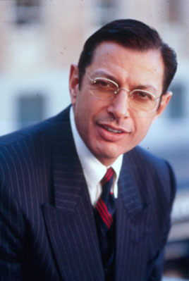 JEFF GOLDBLUM portrays Herbert Biberman in ONE OF THE HOLLYWOOD TEN (2000)