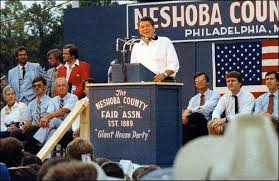 Reagan kicked off his 1980 campaign in NESHOBA, MISSISSIPPI with a tacit promise to bring back segregation