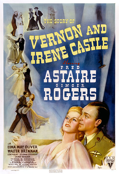 THE STORY OF IRENE and VERNON CASTLE 1939 THE LAST FRED & GINGER MOVIE FROM RKO