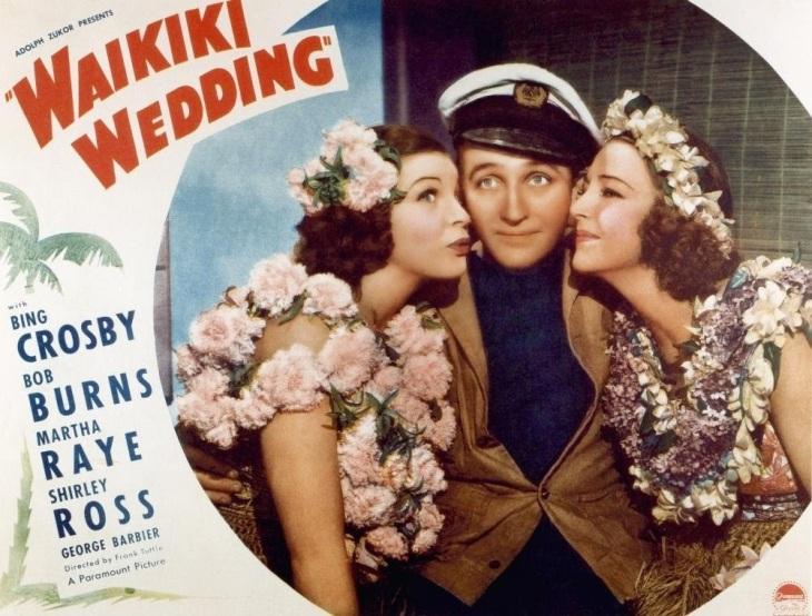 WINNER Best Original Song 1937 SWEET LEILANIE from  WAIKIKI WEDDING