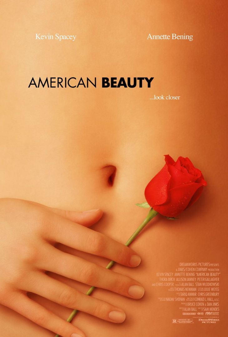 WINNER Best Picture 1999 AMERICAN BEAUTY