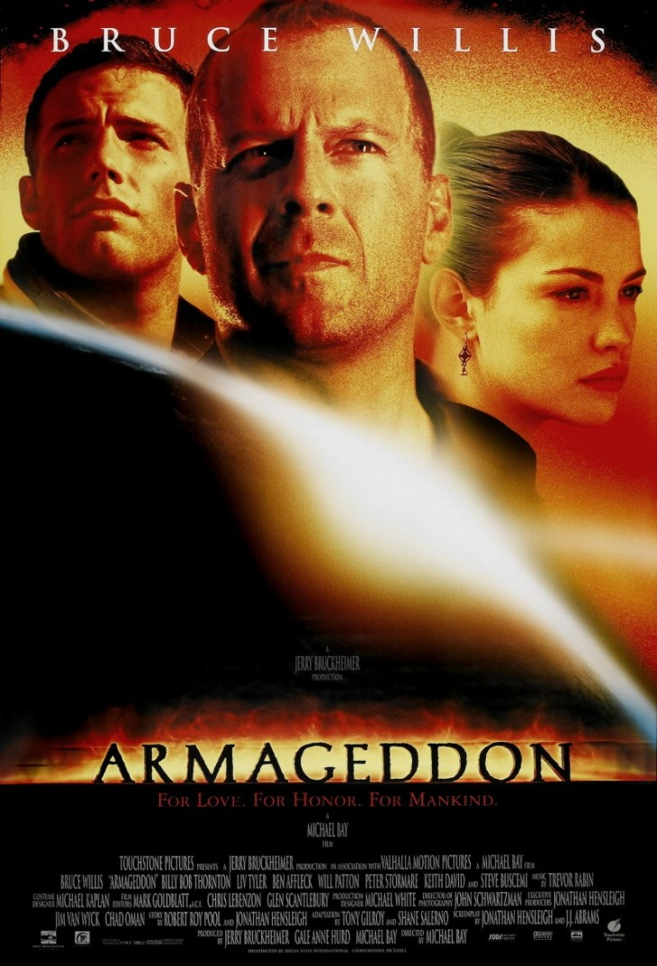 #1 AT THE BOX OFFICE 1998 ARMAGEDDON $553.7 MILLION
