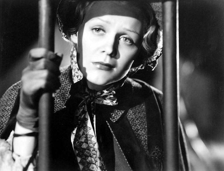 GLORIA STUART 1936 IN  JOHN FORD'S THE PRISONER OF SHARK ISLAND