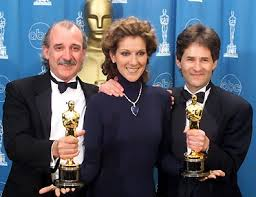 "WINNER BEST ORIGINAL SONG ""MY HEART WILL GO ON"" COMPOSED BY JAMES HORNER, LYRICS BY WILL JENNINGS PERFORMED BY CELINE DION, BORN: 1968 CHARLAMAGNE, QUEBEC, CANADA"