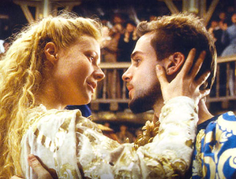 GWYNETH PALTROW & JOSEPH FIENNES She gets an Award and he doesn't?