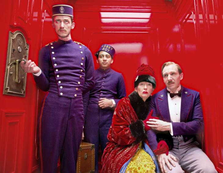 SNUBBED by the ACADEMY BEST ACTOR 2014 RALPH FIENNES THE GRAND BUDAPEST HOTEL with TILDA SWINTON Academy Award 2007