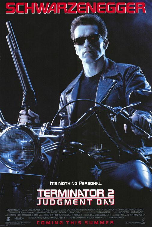 #1 AT THE BOX OFFICE 1991 TERMINATOR 2 JUDGMENT DAY $519.8 MILLION