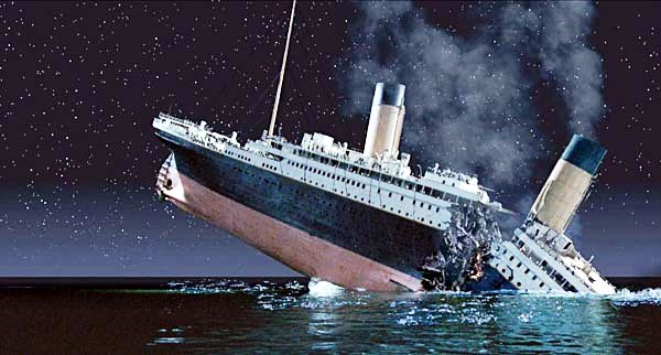 WINNER BEST VISUAL EFFECTS 1997 TITANIC