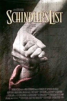 WINNER BEST PICTURE 1993 SCHINDLER'S LIST