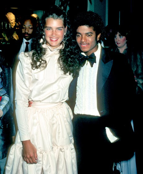BROOKE SHIELDS BORN: 1965 & MICHAEL JACKSON 1958-2009 53rd ACADEMY AWARDS CEREMONY