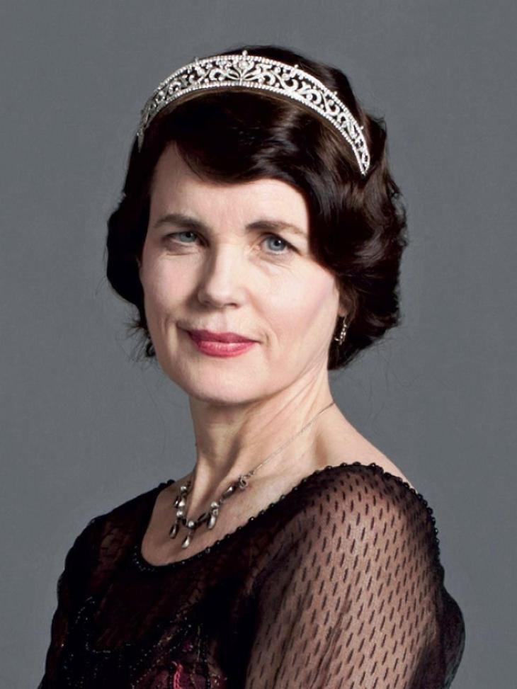 ELIZABETH McGOVERN BORN:  1961 as THE COUNTESS OF GRANTHAM DOWNTON ABBEY