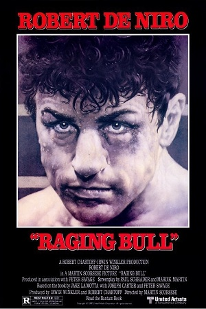 NOMINEE BEST PICTURE 1980 RAGING BULL