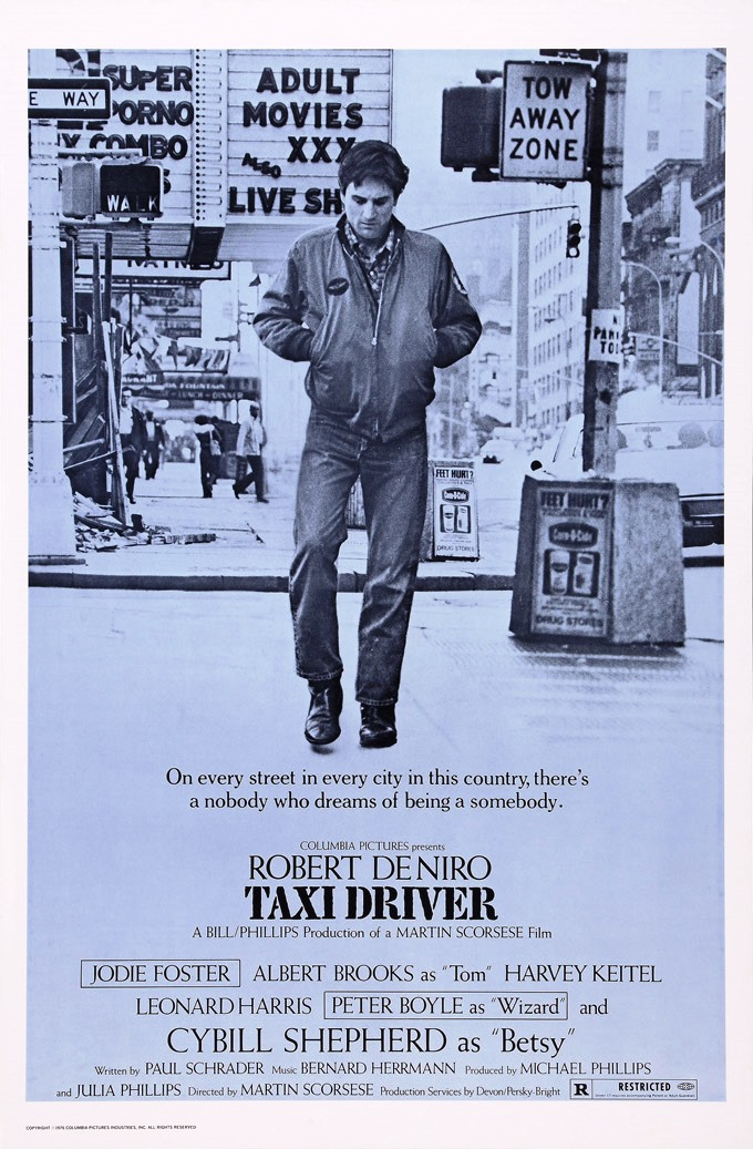 NOMINEE BEST PICTURE 1976 TAXI DRIVER