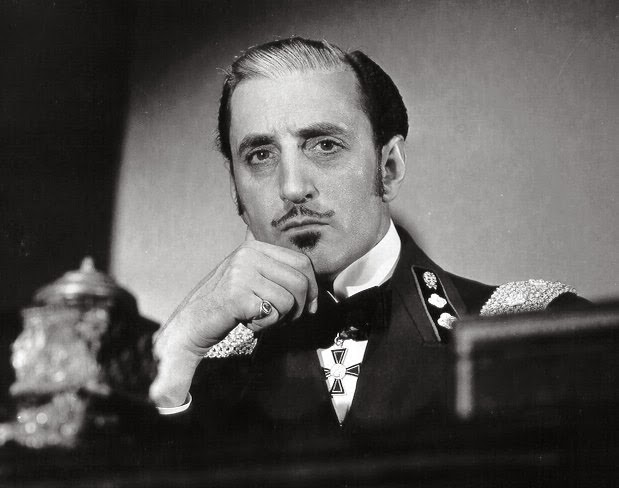 NOMINEE NEW BEST SUPPORTING ACTOR 1935 BASIL RATHBONE 1898-1967