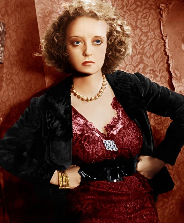 SNUBBED by the ACADEMY BEST ACTRESS 1934 BETTE DAVIS 1908-1989 OF HUMAN BONDAGE