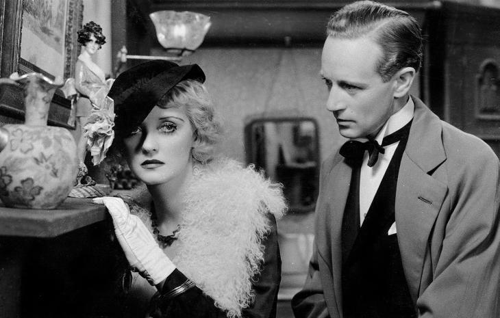 BETTE DAVIS with LESLIE HOWARD (1893-1943) OF HUMAN BONDAGE 1934