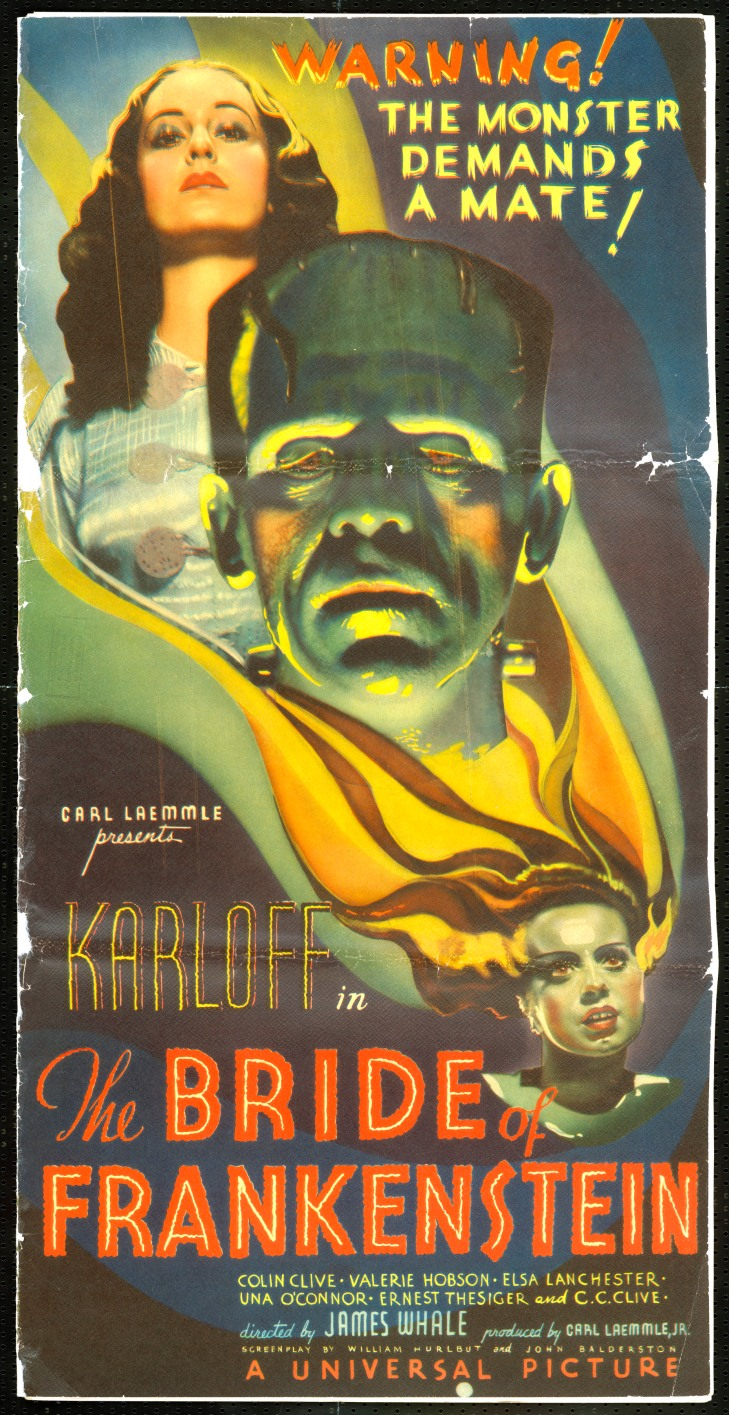 SNUBBED by the ACADEMY BEST PICTURE 1935 THE BRIDE OF FRANKENSTEIN
