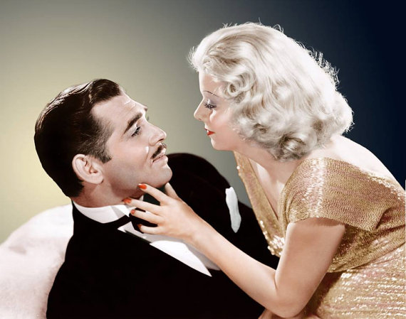 CLARK GABLE #2 BOX OFFICE STAR 1937 WITH JEAN HARLOW 1911-1937