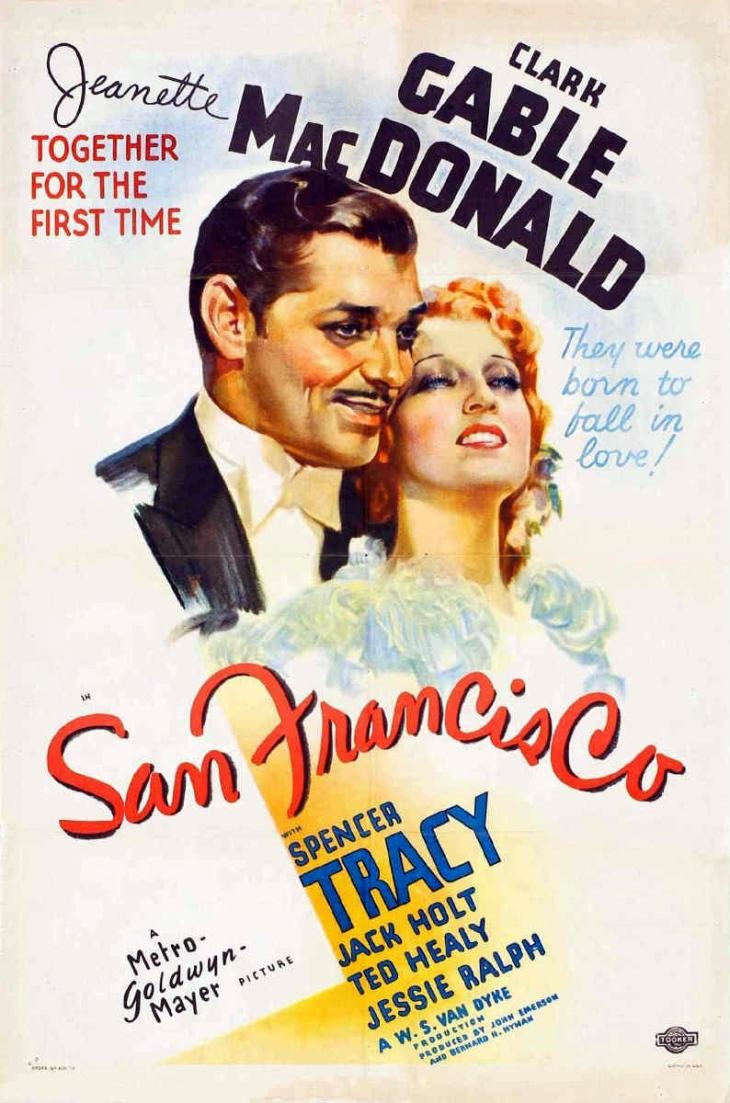 #1 AT THE  BOX OFFICE 1936 SAN FRANCISCO