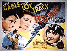 #2 BOX OFFICE MOVIE 1938 TEST PILOT