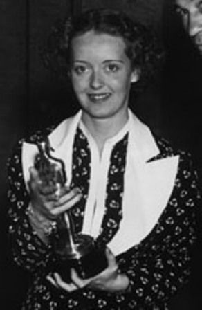 WINNER BEST ACTRESS 1935 BETTE DAVIS 1908 - 1989 DANGEROUS