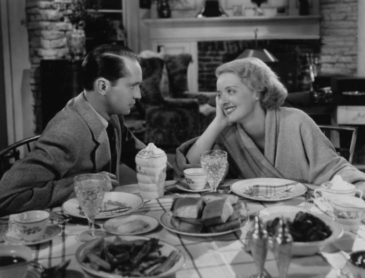 FRANCHOT TONE & BETTE DAVIS CO-STARS IN DANGEROUS