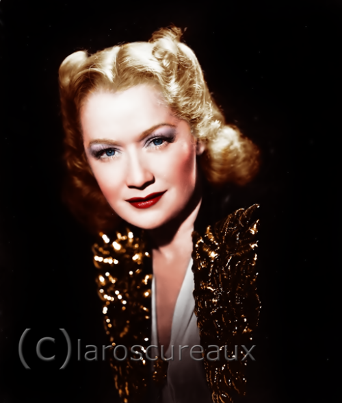 MIRIAM HOPKINS 1902 - 1972 1 NOMINATION 0 WIN 1 SNUB